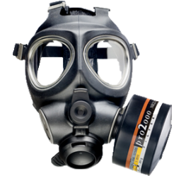 M95 Full Facepiece Respirator Military & National Defence